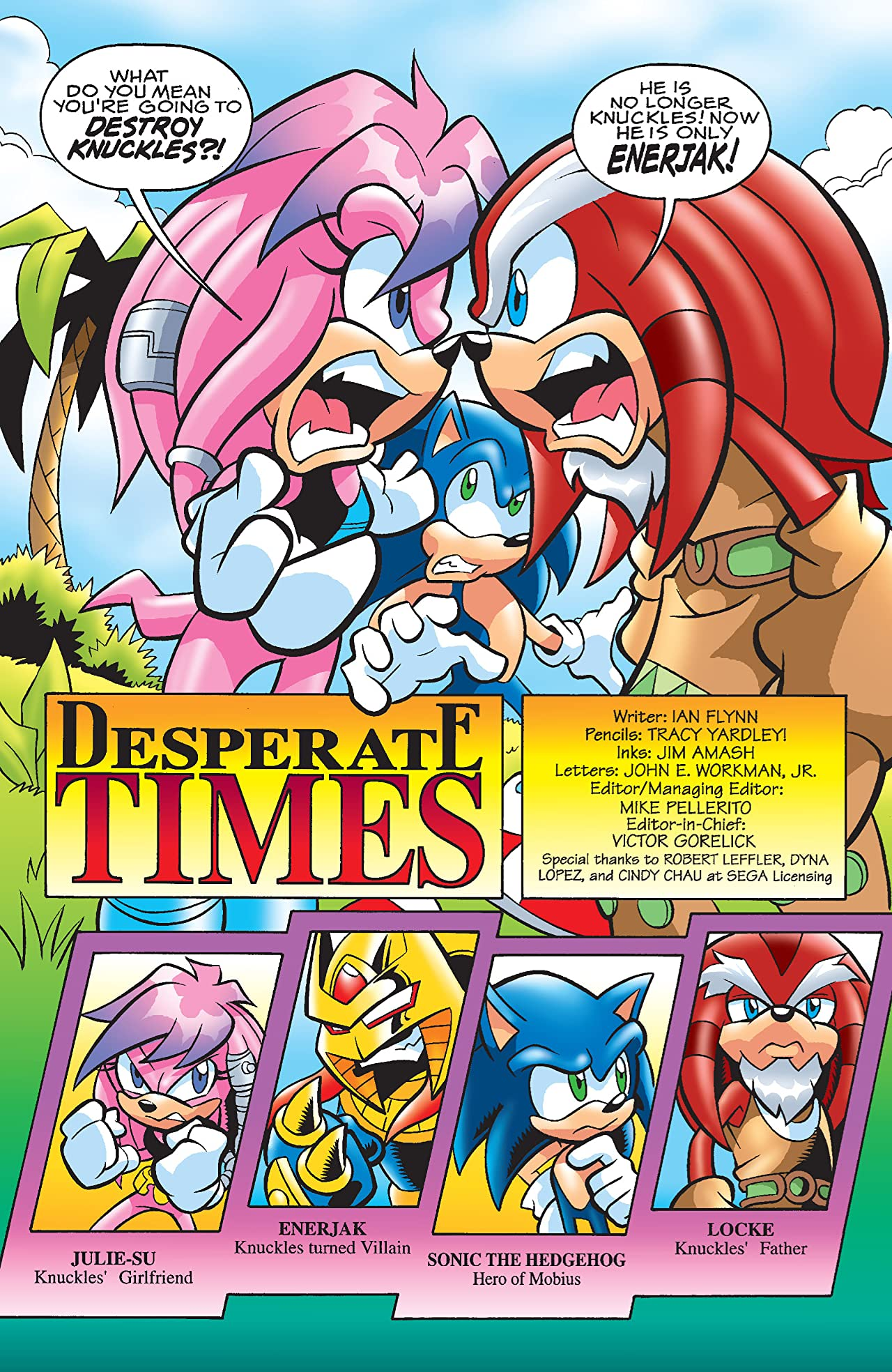 Sonic the Hedgehog #183