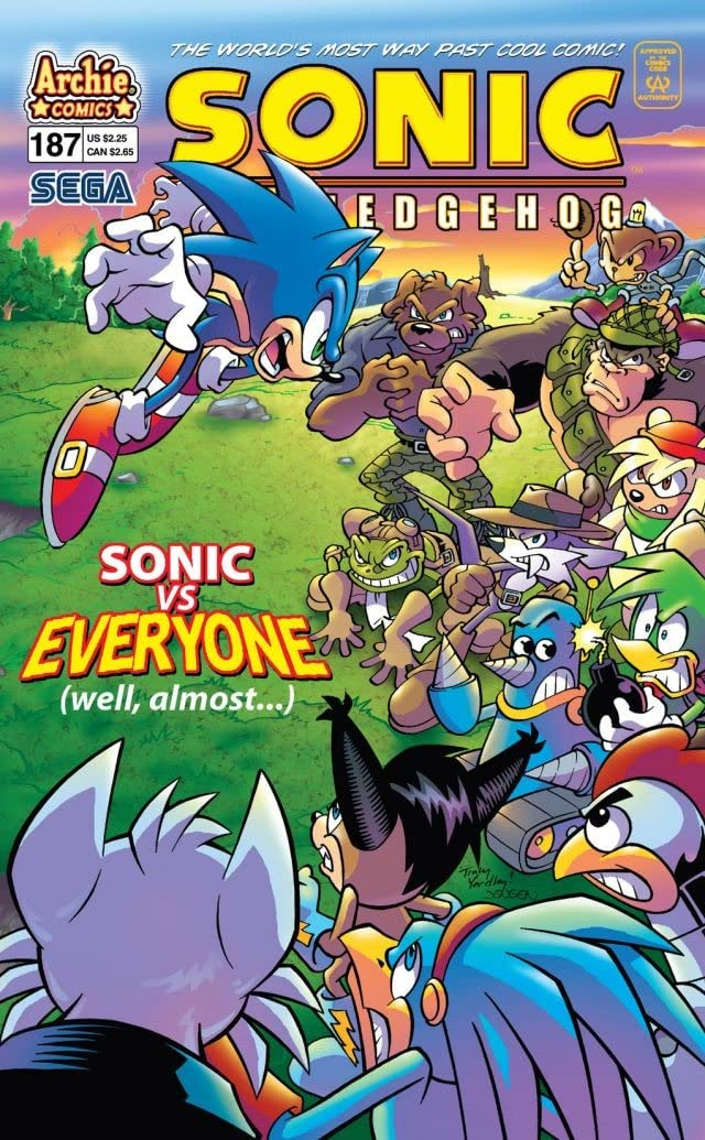 Sonic the Hedgehog #187