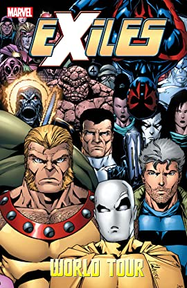 Exiles Vol. 13: World Tour Book Two