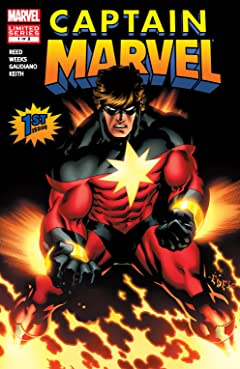Captain Marvel (2008) #1 (of 5)