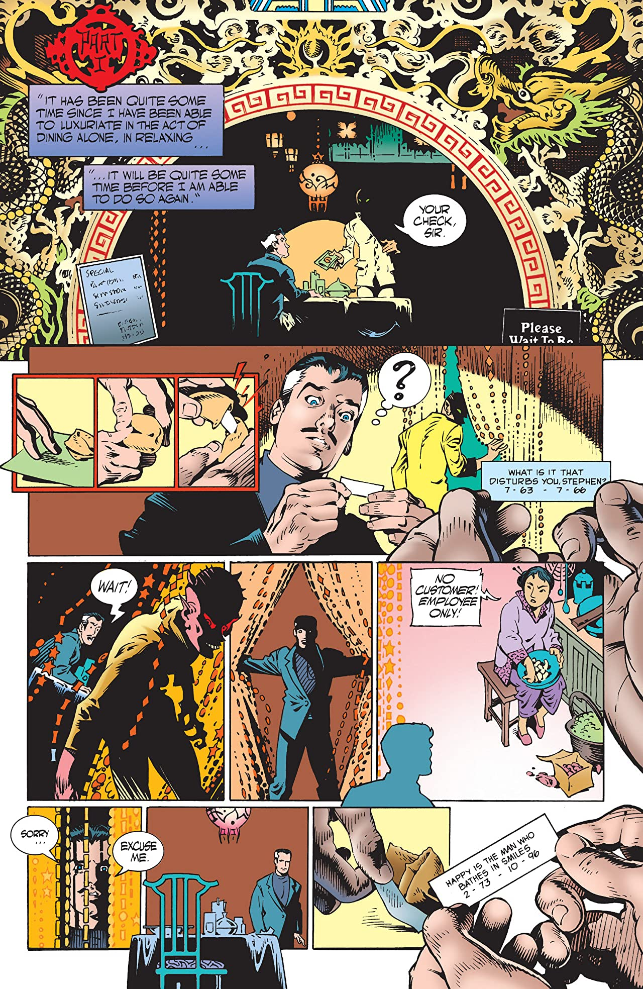 Dr. Strange: What Is It That Disturbs You, Stephen? (1997) #1