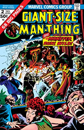 Giant-Size Man-Thing (1974-1975) #2