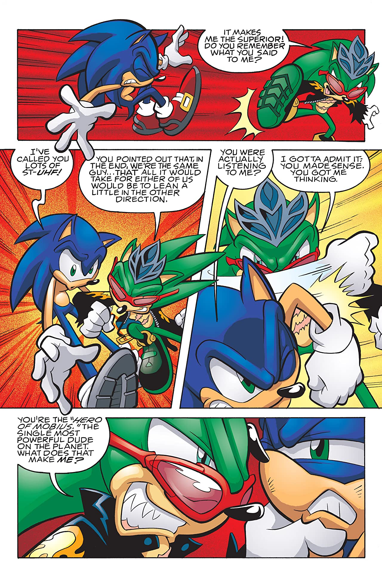 Sonic the Hedgehog #190