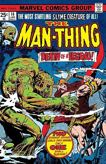 Man-Thing (1974-1975) #16