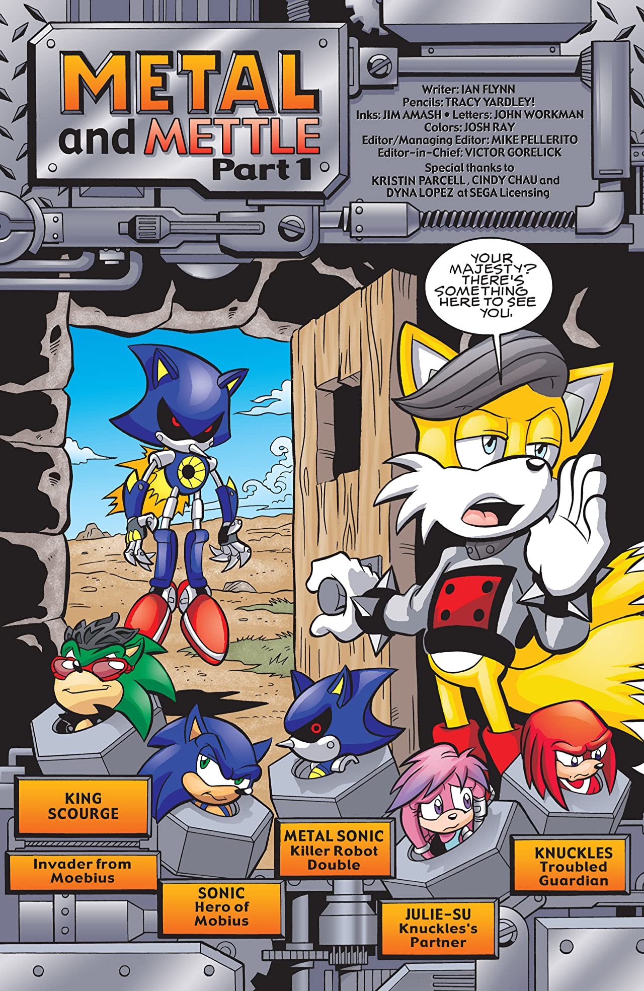 Sonic the Hedgehog #191