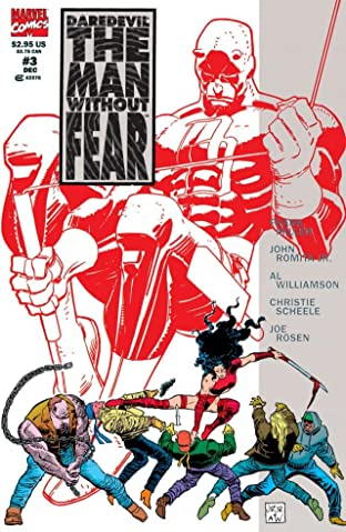 Daredevil: The Man Without Fear (1993-1994) #3 (of 5)