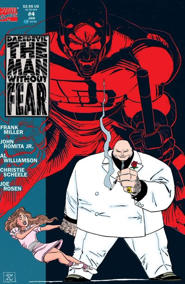 Daredevil: The Man Without Fear (1993-1994) #4 (of 5)