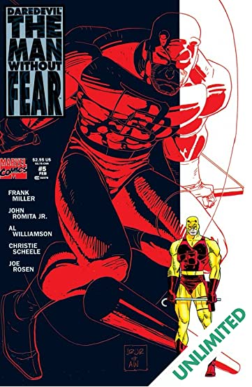 Daredevil: The Man Without Fear (1993-1994) #5 (of 5)