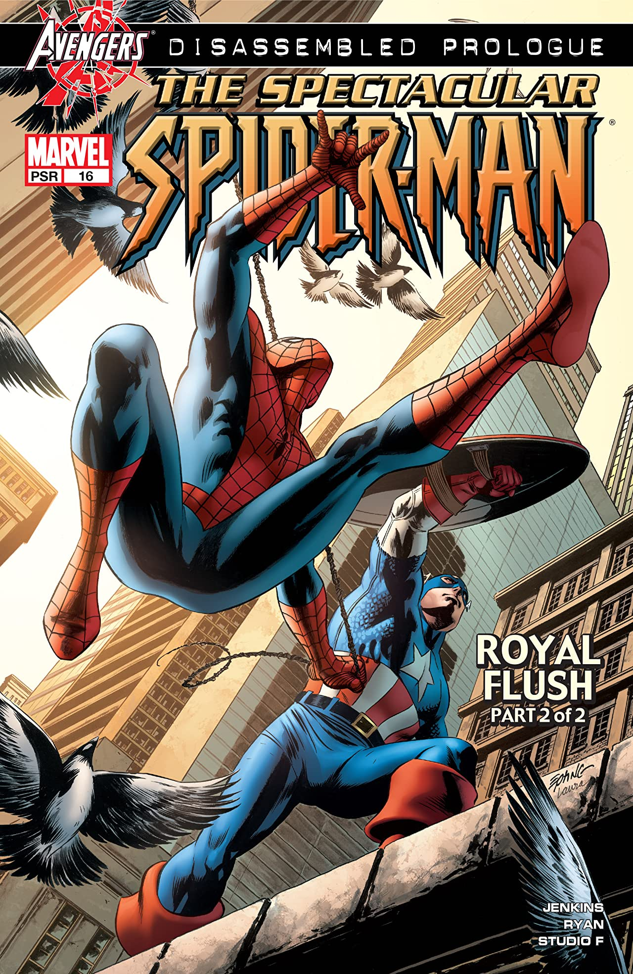 Spectacular Spider-Man (2003-2005) #16