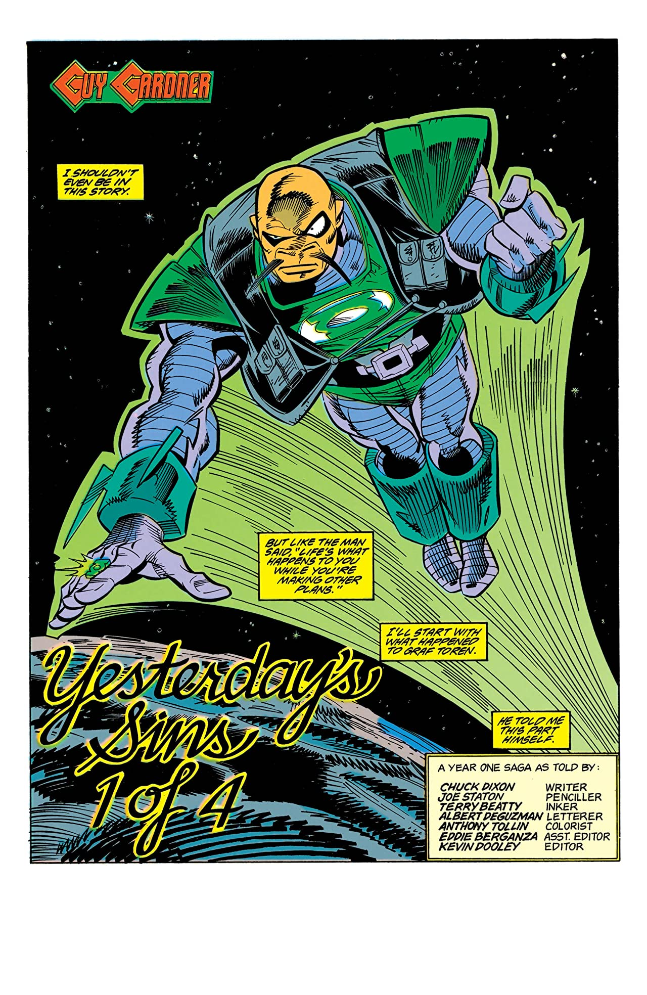 Guy Gardner: Warrior (1992-1996) #11