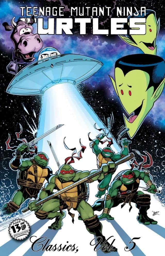 Teenage Mutant Ninja Turtles: Classics Vol. 5
