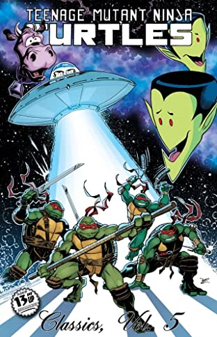 Teenage Mutant Ninja Turtles: Classics Tome 5