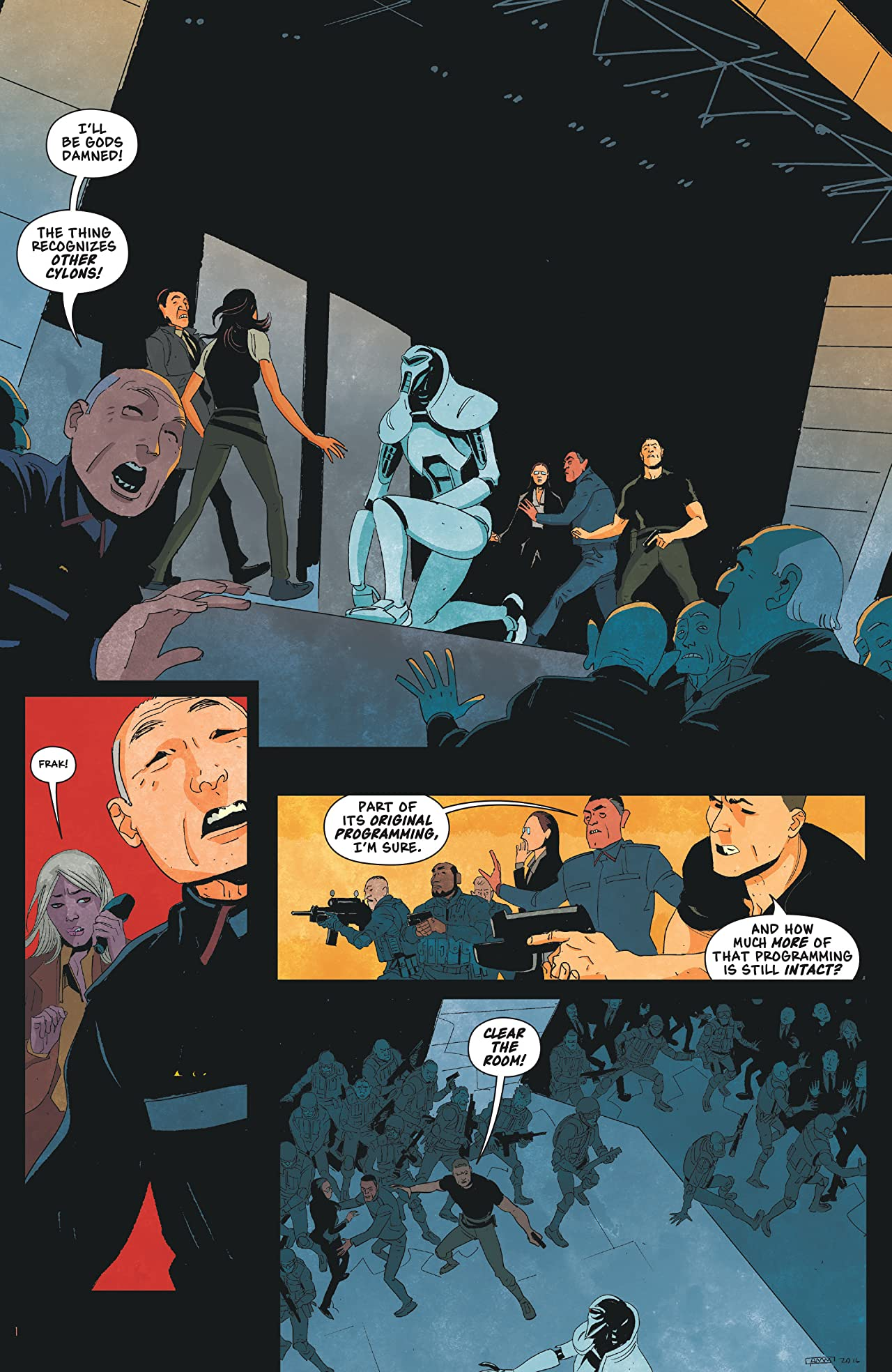 Battlestar Galactica: Gods & Monsters #2