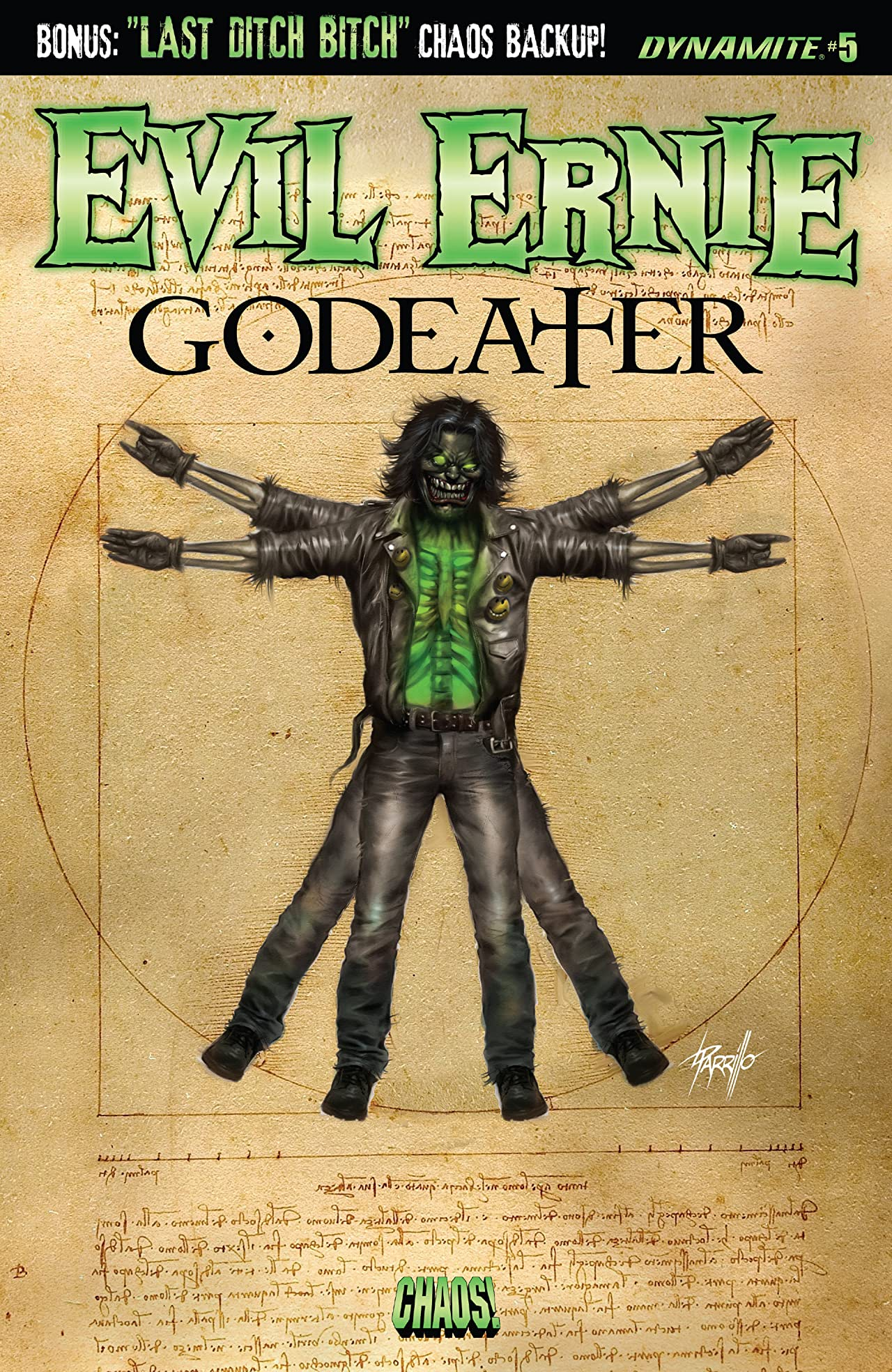 Evil Ernie: God Eater #5: Digital Exclusive Edition