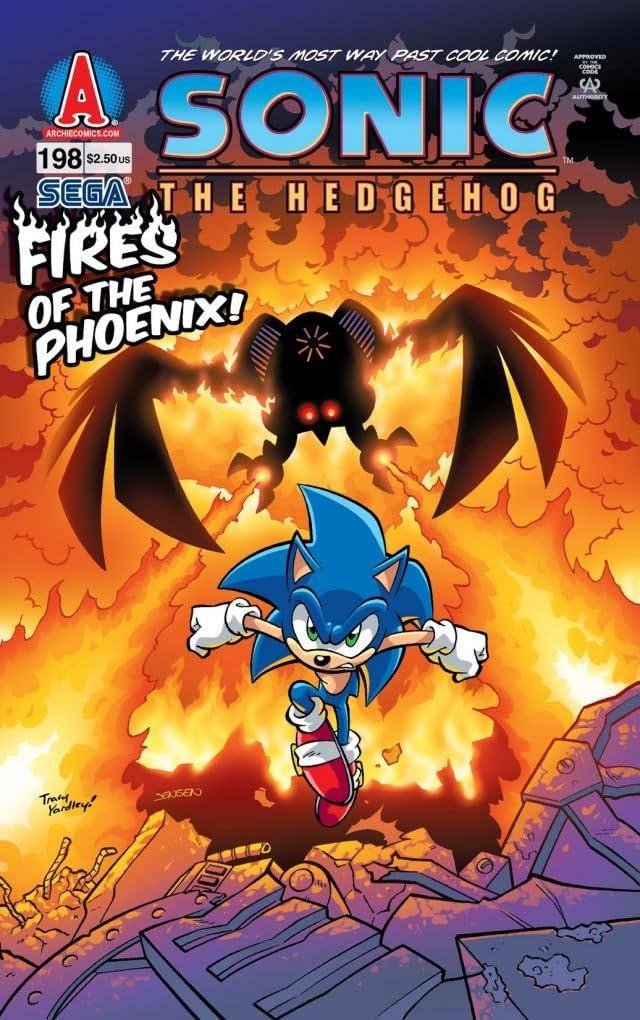 Sonic the Hedgehog #198