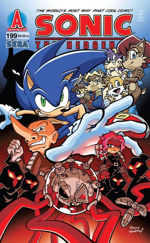 Sonic the Hedgehog #199