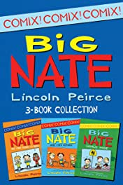Big Nate Comix 3-Book Collection: What Could Possibly Go Wrong?, Here Goes Nothing, Genius Mode