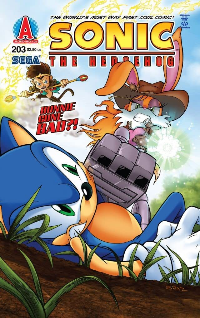 Sonic the Hedgehog #203