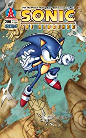Sonic the Hedgehog #206