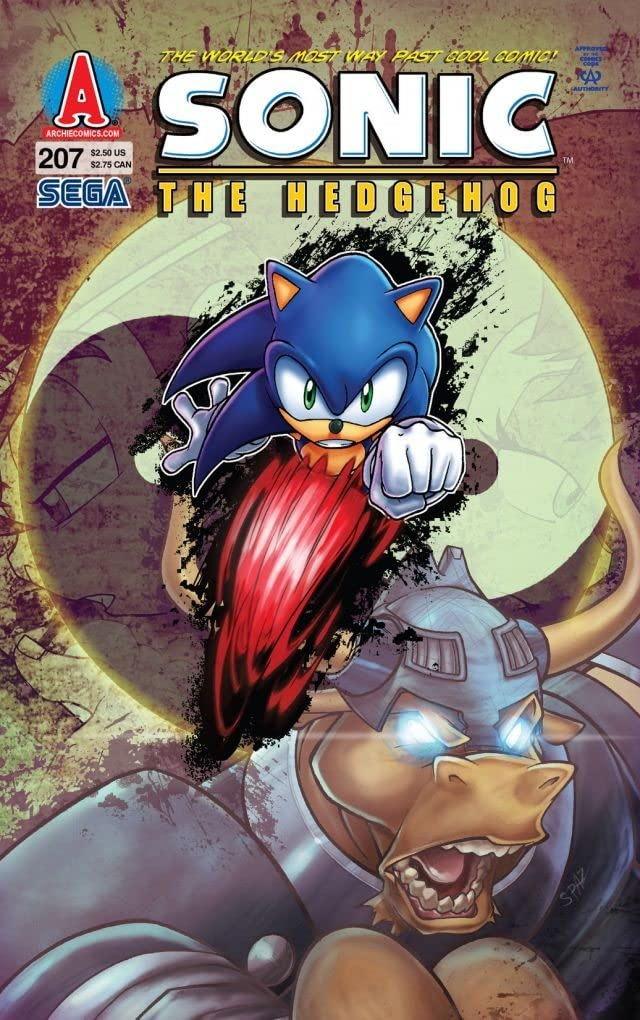 Sonic the Hedgehog #207