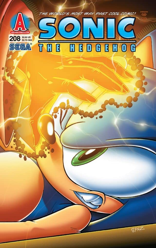 Sonic the Hedgehog #208