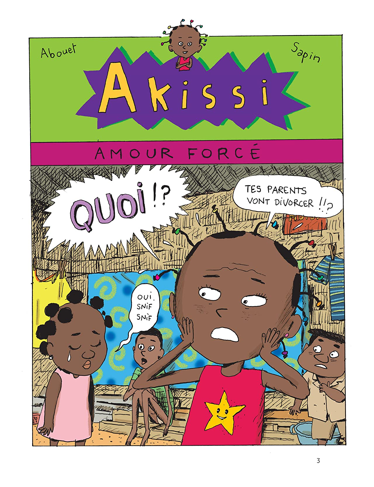 Akissi Vol. 7: Faux départ