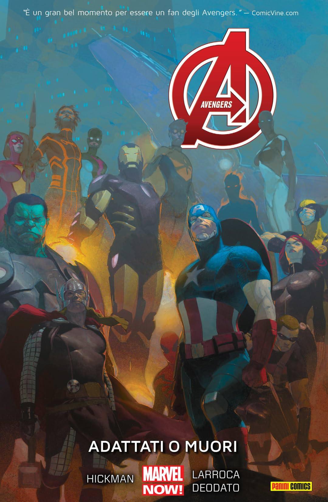 Avengers Vol. 5: Adattati O Muori