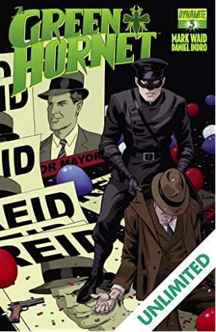 The Green Hornet #3: Digital Exclusive Edition