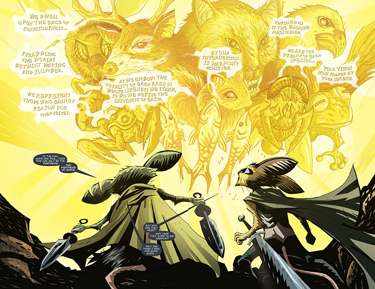 The Mice Templar Vol. 4: Legend #4