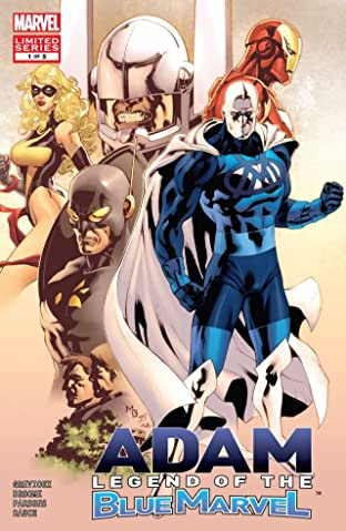 Adam: Legend of the Blue Marvel No.1 (sur 5)