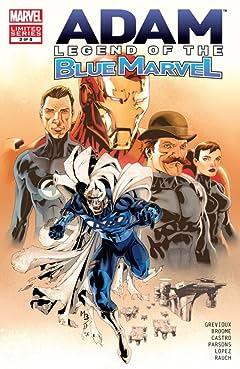 Adam: Legend of the Blue Marvel #2 (of 5)