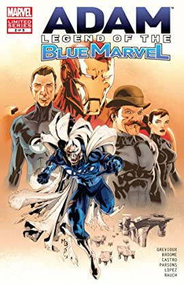 Adam: Legend of the Blue Marvel #2 (of 5)