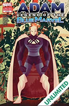 Adam: Legend of the Blue Marvel #3 (of 5)