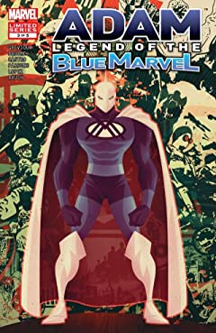 Adam: Legend of the Blue Marvel #3 (of 5)