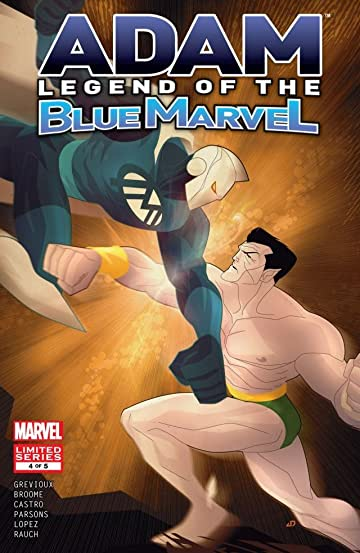 Adam: Legend of the Blue Marvel #4 (of 5)