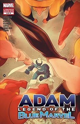 Adam: Legend of the Blue Marvel #5 (of 5)
