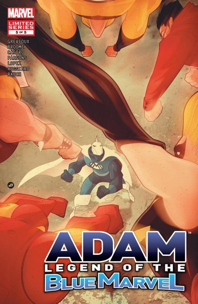 Adam: Legend of the Blue Marvel #5 (of 5)