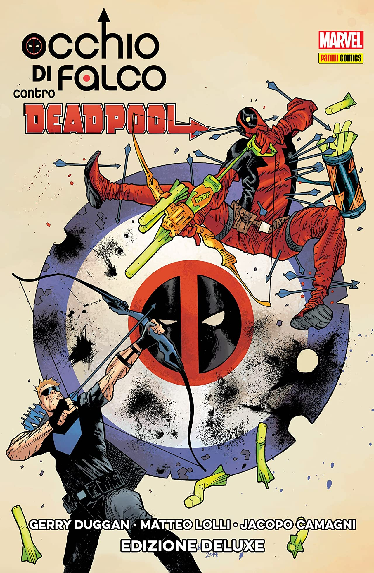 Occhio Di Falco Contro Deadpool