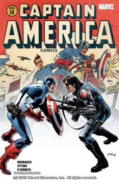 Captain America (2004-2011) #14