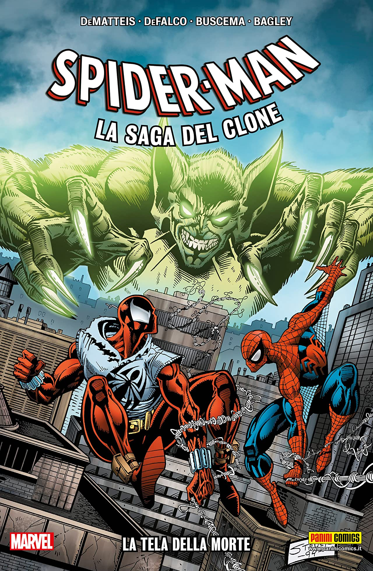 Spider-Man La Saga Del Clone Vol. 2: La Tela Della Morte