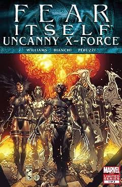 Fear Itself: Uncanny X-Force #1 (of 3)