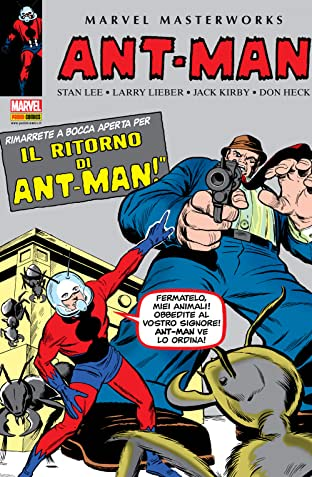 Ant-Man E Giant-Man: Marvel Masterworks Vol. 1