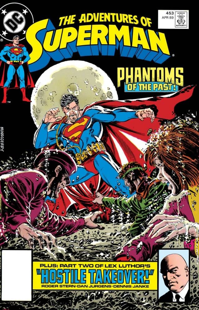 Adventures of Superman (1986-2006) #453