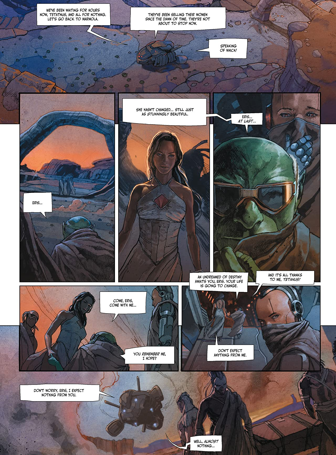 The Metabaron Vol. 2: Khonrad, The Anti-Baron