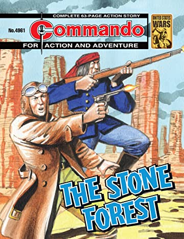 Commando #4961: The Stone Forest