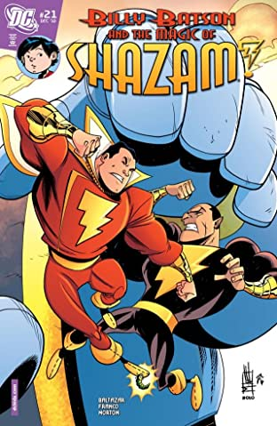 Billy Batson and the Magic of Shazam! No.21