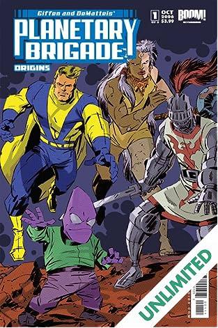 Planetary Brigade Origins #1 (of 3)