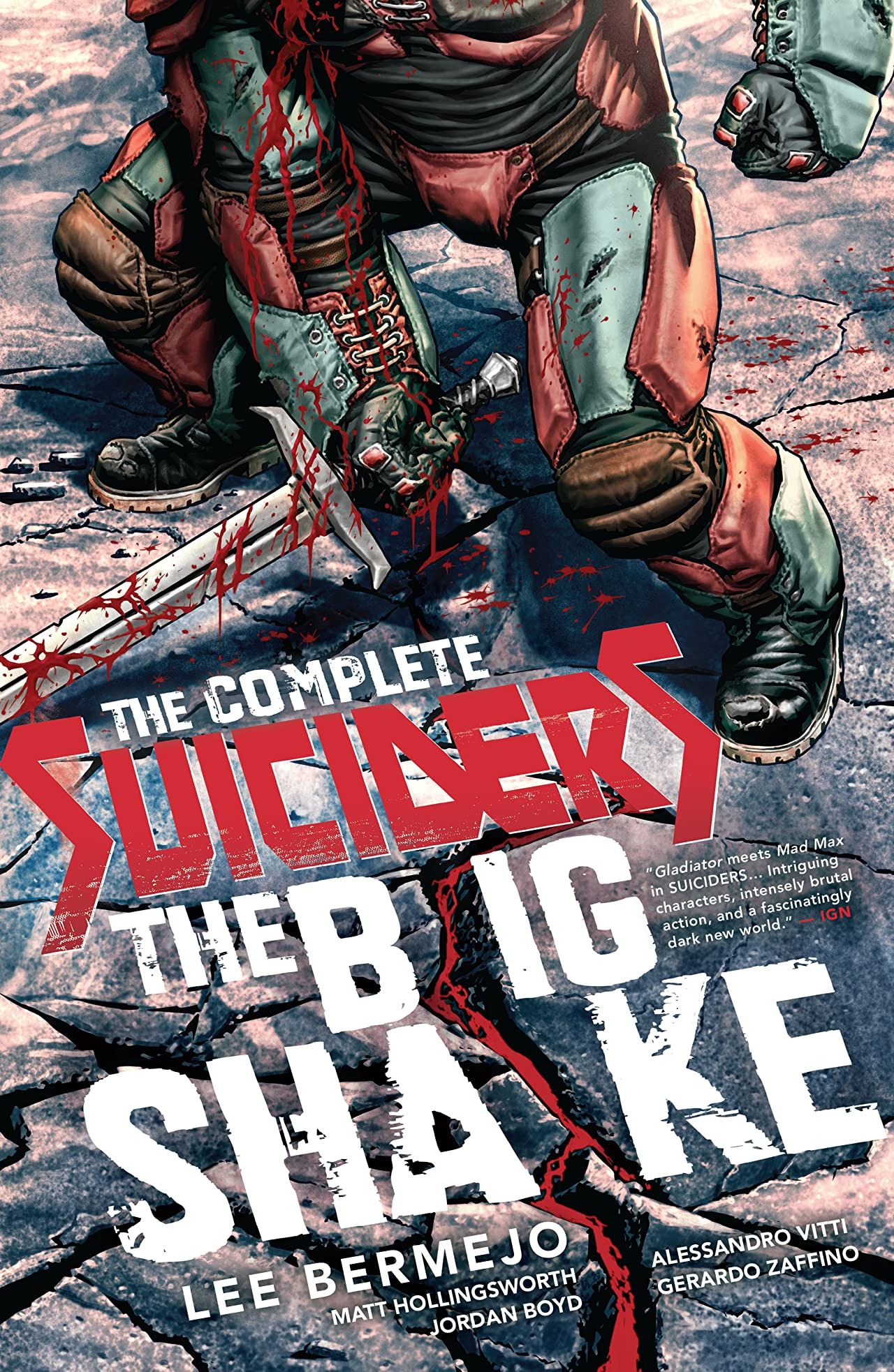 The Complete Suiciders: The Big Shake