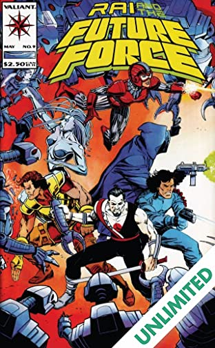 Rai and the Future Force (1992-1995) #9