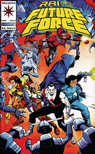 Rai and the Future Force (1992-1995) No.9